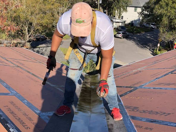 Depending on where the damaged tile is on the roof, be sure to prime underlayment before adding new roof tile on top.