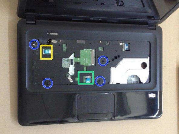 4x M2.5x5.0 screws