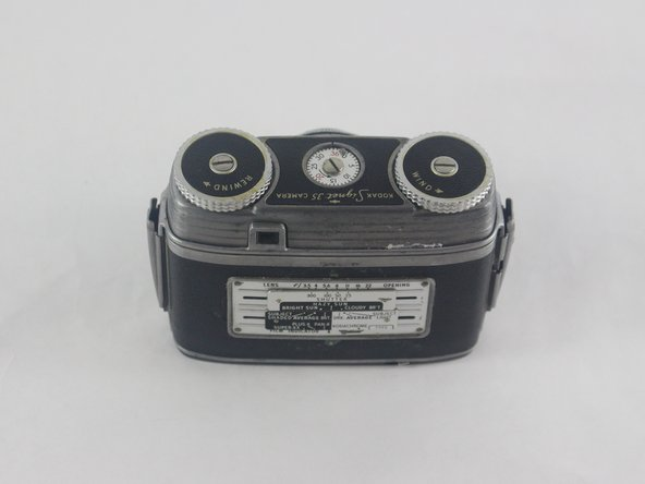 Kodak Signet 35 Dials Replacement