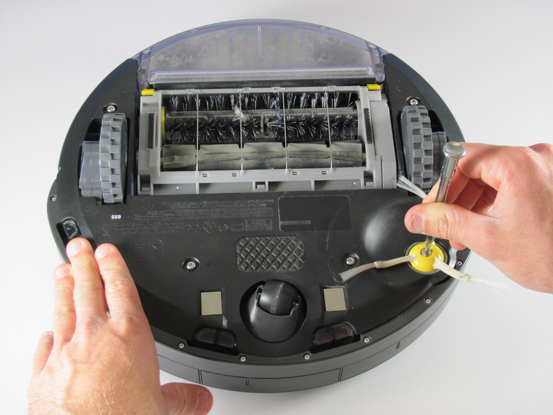 Irobot Roomba 655 Pet Series Side Brush And Back Panel