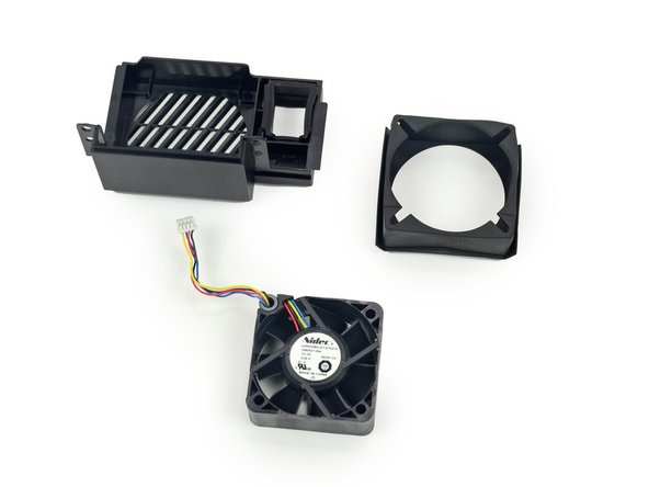 The 5 volt DC fan is manufactured by Nidec and is labeled as U40R05MS1A7-57A07A.