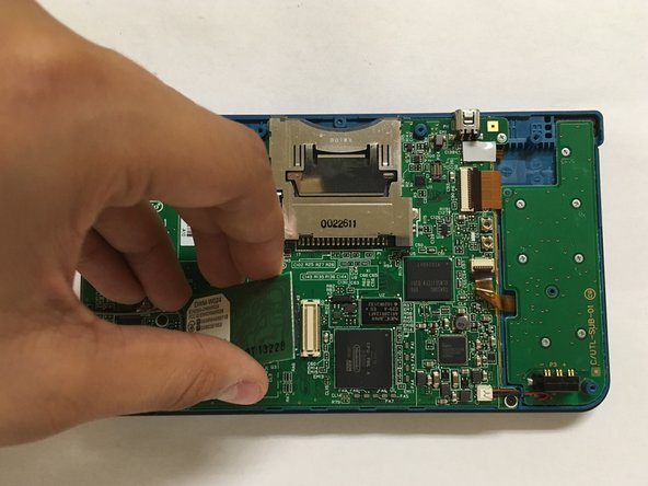 Lift the Wi-fi Board off of its socket.(you can also put this back.)