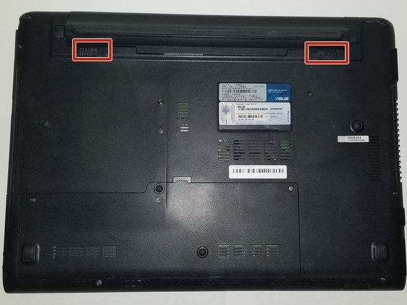 Make sure you unplugged the laptop before you begin the replacement process.