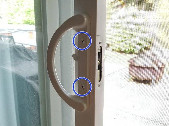 Glass Door Latch Replacement