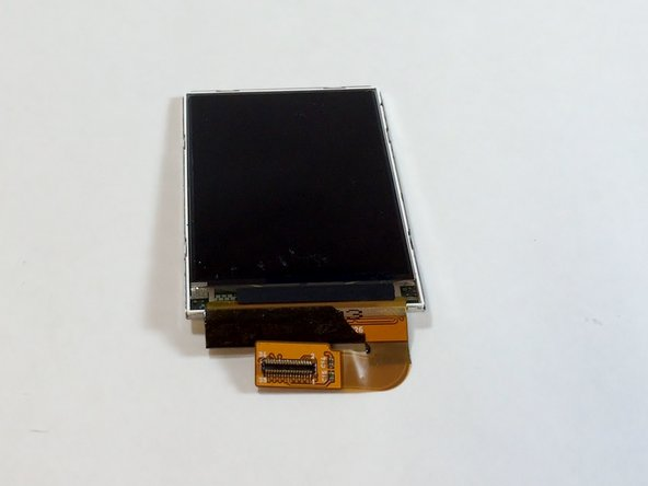 Lift the LCD display off of the frame to remove it from the device.