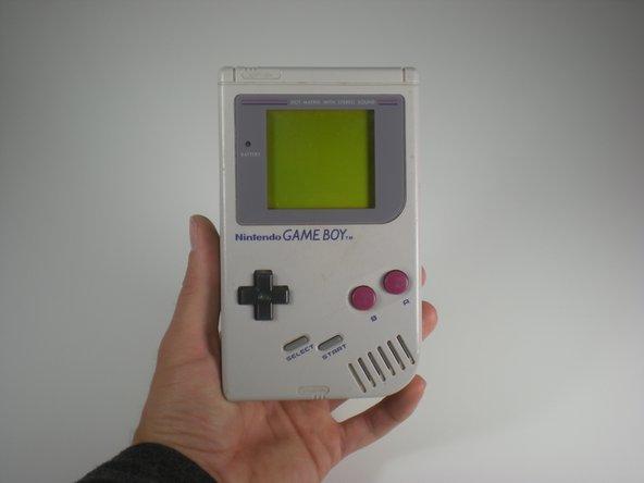 Game Boyスクリーンの交換