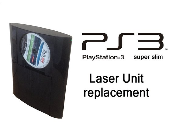 PlayStation 3 Super Slim Laser Unit Replacement