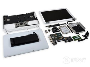 MacBook Unibody Model A1342 Teardown