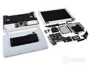 MacBook Unibody Model A1342 Teardown
