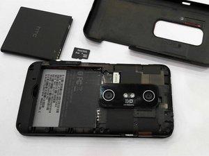 HTC Evo 3D Teardown