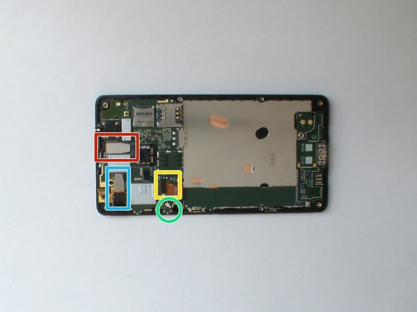 Image 1/3: Touch screen flex cable