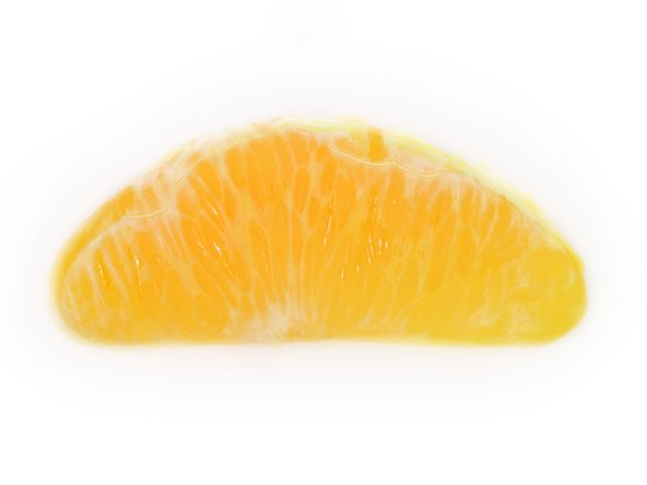 Image 2/2: [http://en.wikipedia.org/wiki/Orange_(fruit)#Navel_oranges|Navel] Oranges, such as this, have small, sterile seeds that cannot be used to reproduce more Oranges—a cutting from an existing fruit-bearing tree must be grafted to another tree.