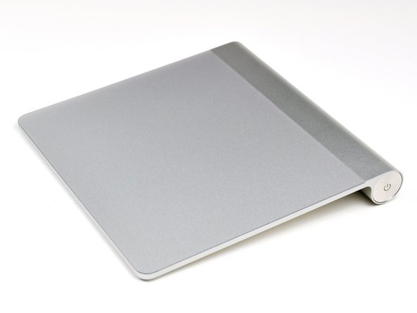 The Magic Trackpad is 80% larger than the trackpad included in current MacBook Pro models.