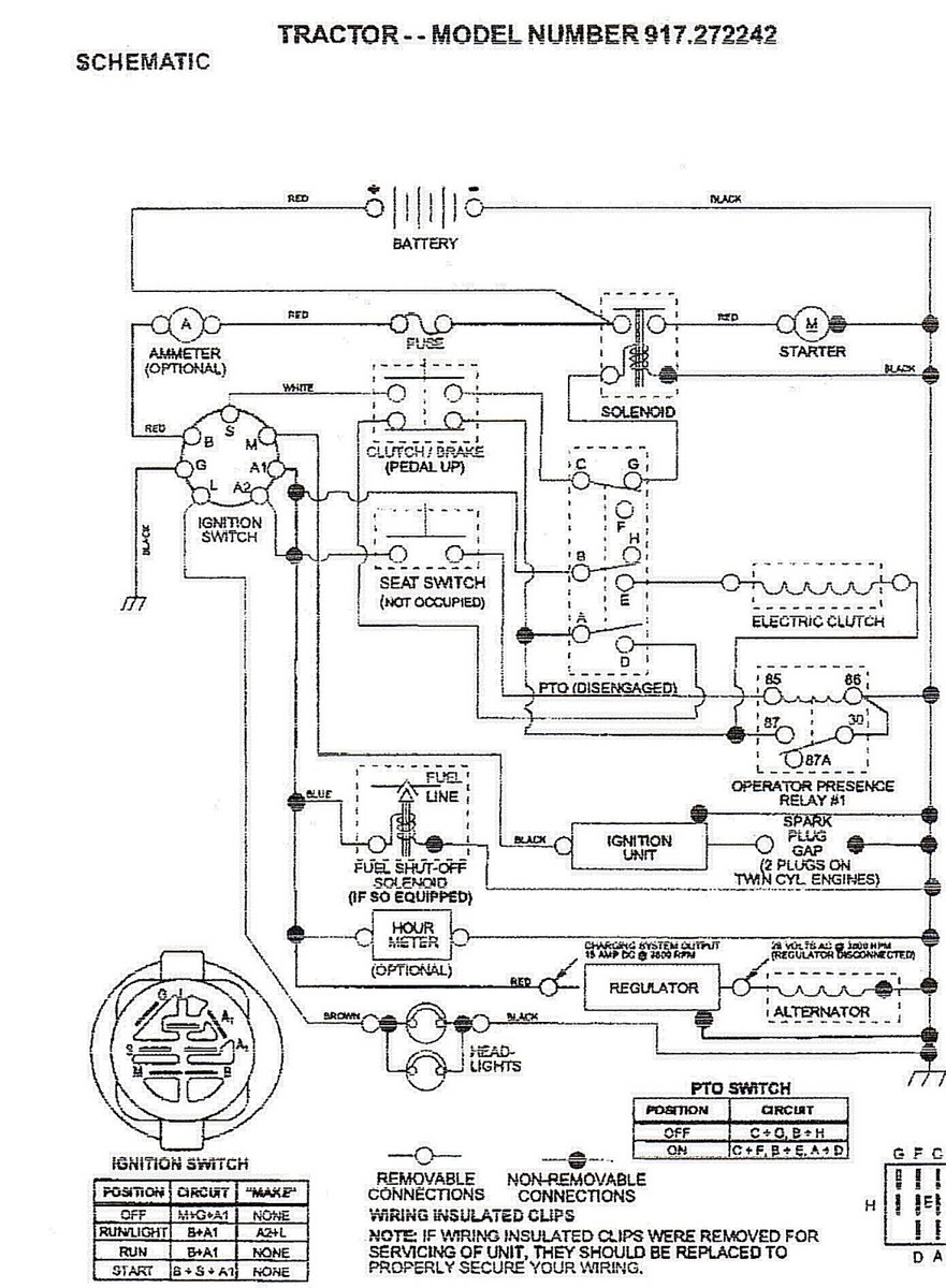 Wiring Diagram Craftsman Model 917 275671 Trusted Diagrams 273820 Custom U2022 Mower