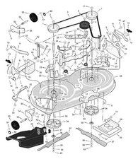 SOLVED: need diagram to install belt on Murray riding mower - Murray Riding  Mower - iFixit | Murray 425000x8 Wiring Diagram |  | iFixit