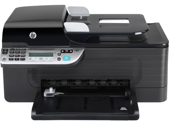 hp officejet 4500 wireless repair ifixit. Black Bedroom Furniture Sets. Home Design Ideas