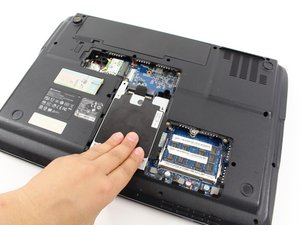 Hard Drive Compartment