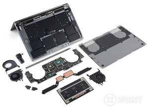 "MacBook Pro 15"" Touch Bar Teardown"