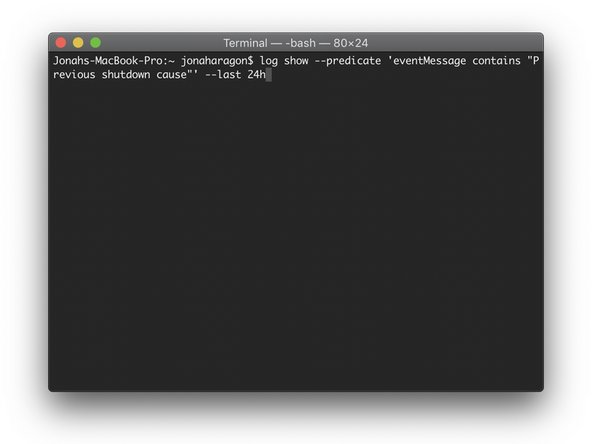 Copy and paste the following command in your Terminal window:
