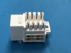 How to Wire a RJ-45 KeyStone Jack