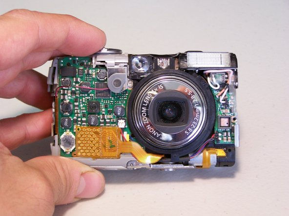 How to Dry Wet Canon PowerShot SD850 IS Camera Components