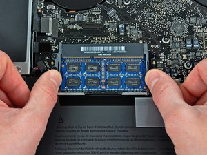 "Installation de RAM dans le MacBook Pro 15"" Unibody mi-2009"