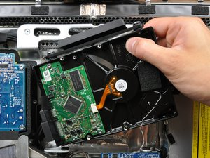 "iMac Intel 20"" EMC 2133 and 2210 Hard Drive Replacement"