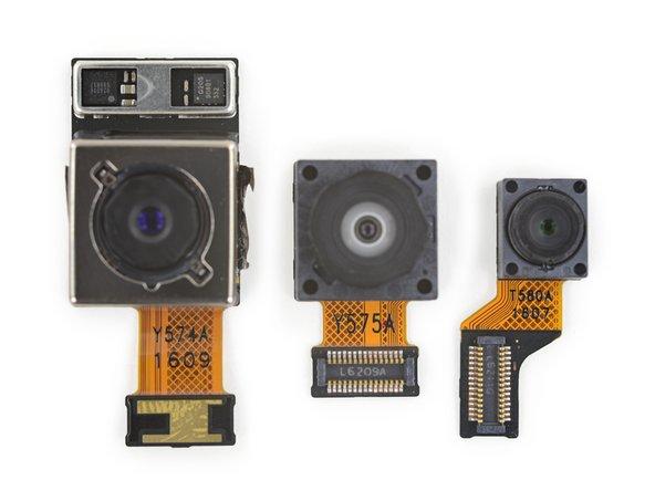 Wie der Vorgänger auch, hat das G5 eine 16 MP ƒ/1.8 Kamera mit einem 9,8 mm Bildsensor.