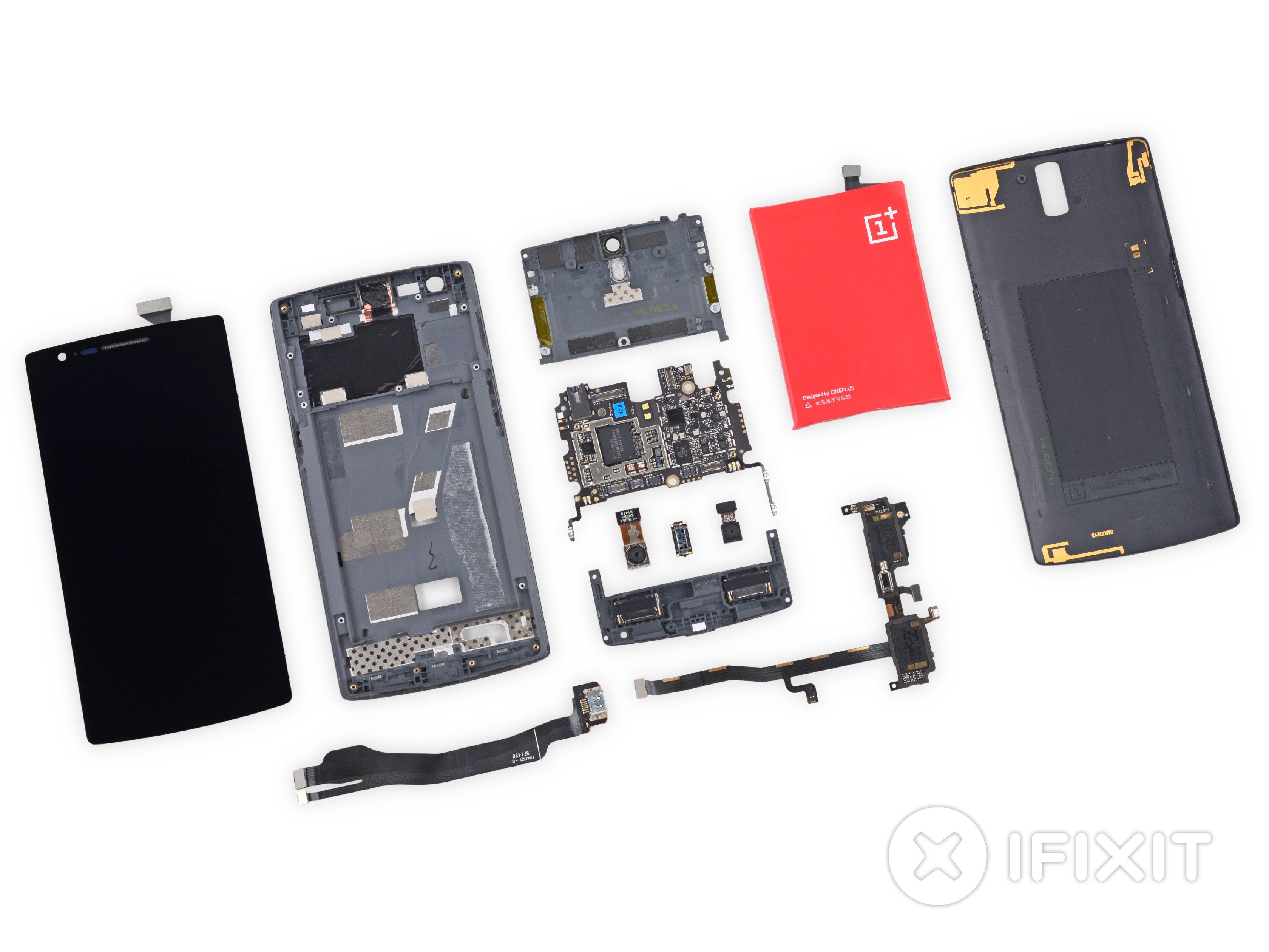 release date 0f710 889eb OnePlus One Teardown
