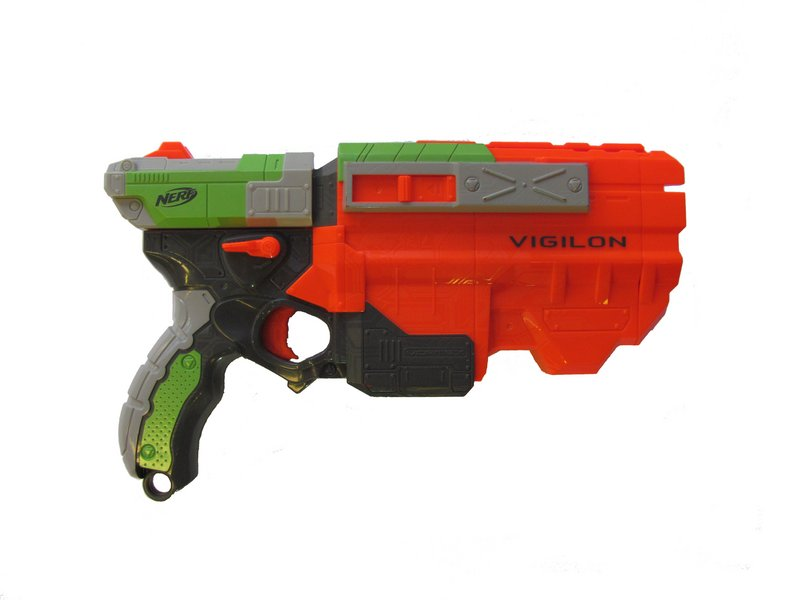 Why is the trigger jammed? - Nerf Vortex Vigilon - iFixit
