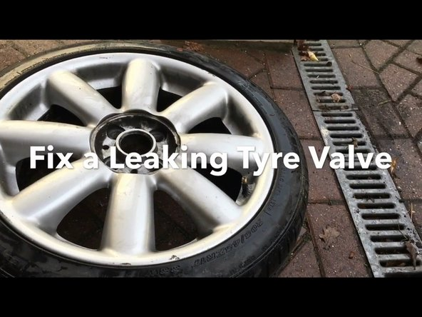 How to Fix an air leak from a Tire valve (Tyre valve)