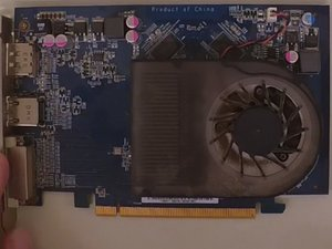 Repairing a Video Card with Noisy, Slow or Stuck Fan