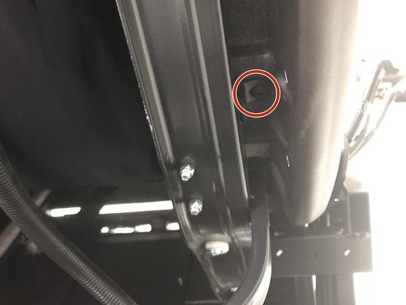 Remove all 6 screws on frame. 2 up top and 2 on both sides.