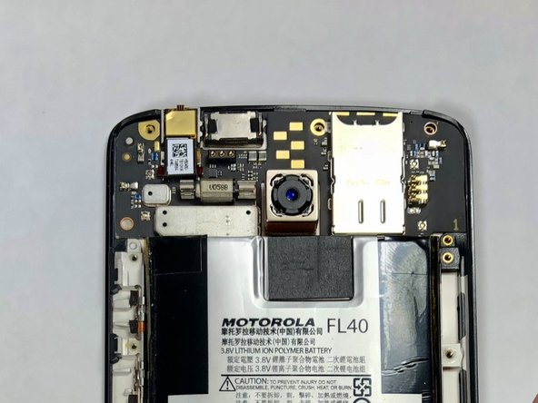 Motorola Droid MAXX 2 Rear Camera Replacement