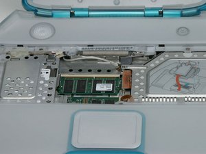iBook G3 Clamshell RAM Replacement