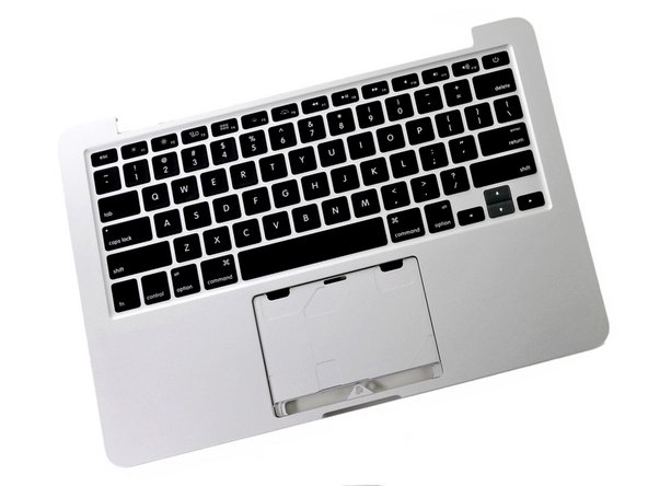 "MacBook Pro 13"" Retina Display Early 2013 Upper Case Replacement"
