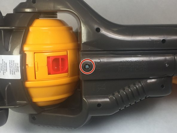 Remove one 9.2mm (0.36 in) screw using the PH00 screwdriver.
