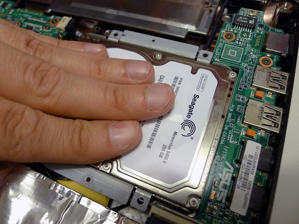 how to replace hard drive on asus eee pc