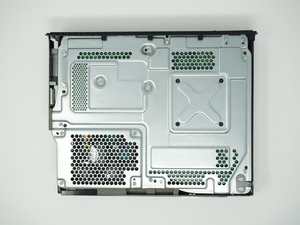 Remove the top of the case by sliding the case towards you.