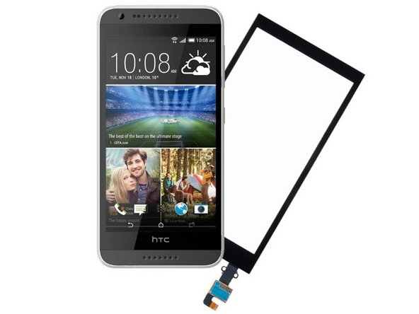 HTC Desire 620 Touch Screen Glass / Digitizer Replacement