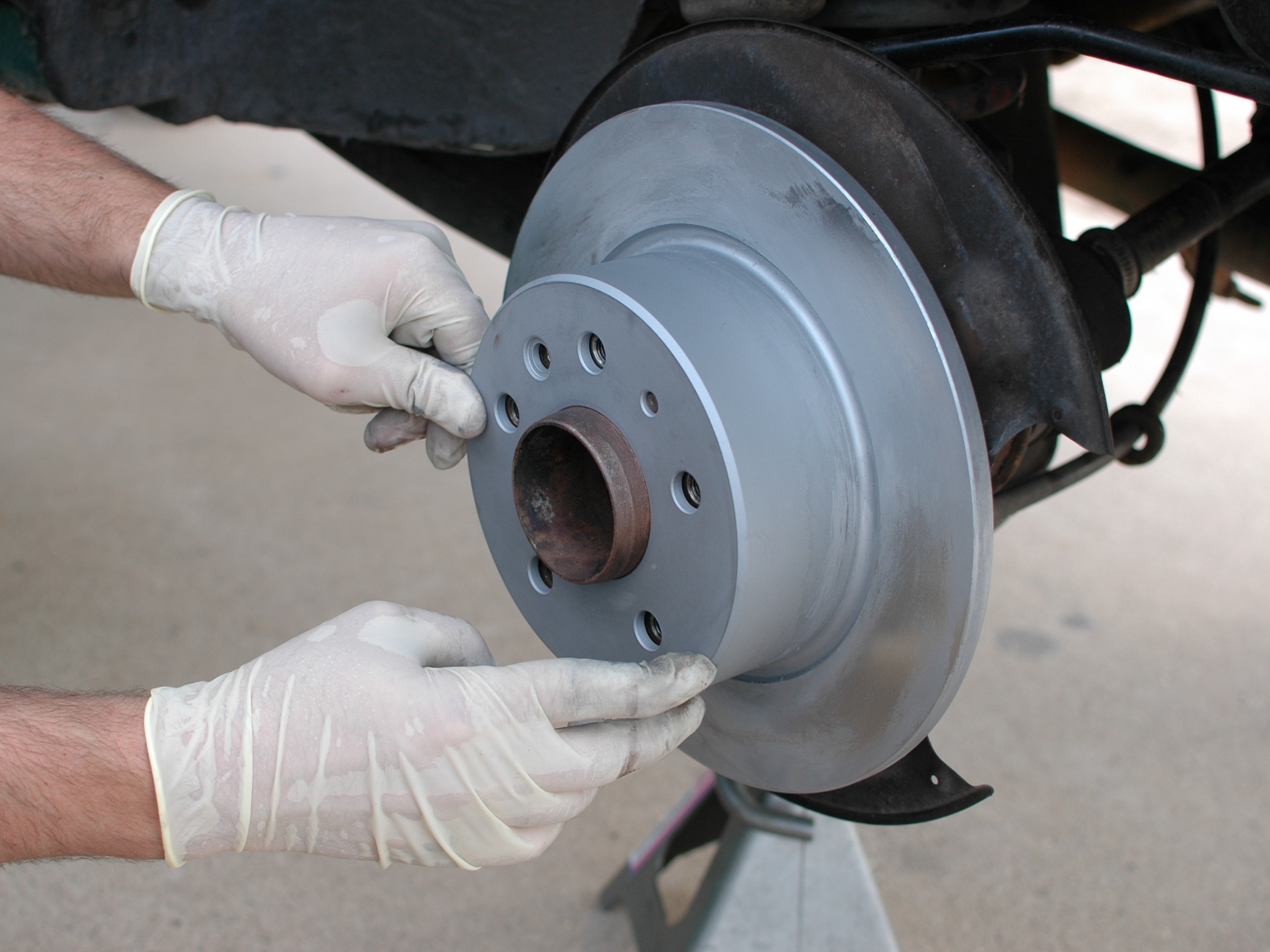 Mercedes W123 Brake Disc Rear Replacement Ifixit Repair