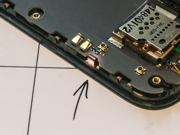 The plastic clips break easily if bent back too far.