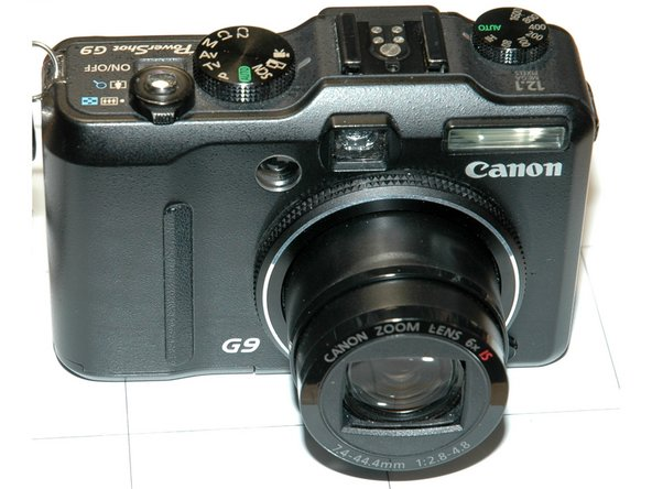 Canon PowerShot G9 SD-Card Slot Write Lock