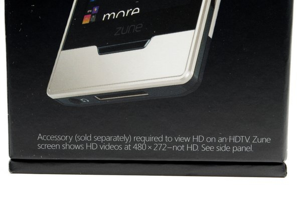 "Sparing no expense, we got the 32 GB ""Platinum"" model. However, it seems you need to spend an additional $90 if you want to get HD out of the Zune HD..."