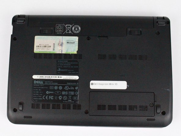 Dell Inspiron Mini 10 Battery Replacement