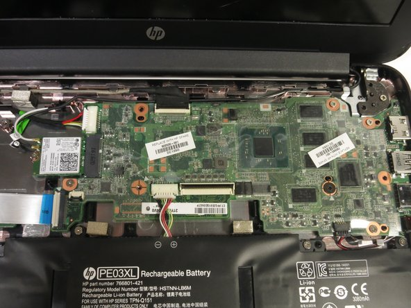 HP Chromebook 11 G4 Motherboard Replacement