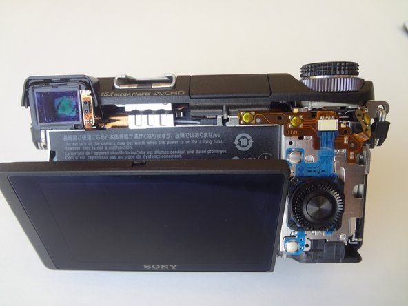 Sony Alpha NEX-6 Back Case Replacement