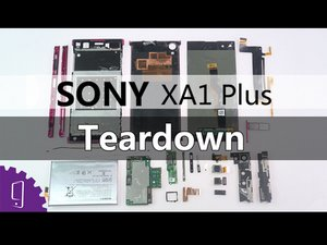 Sony Xperia XA1 Plus Teardown