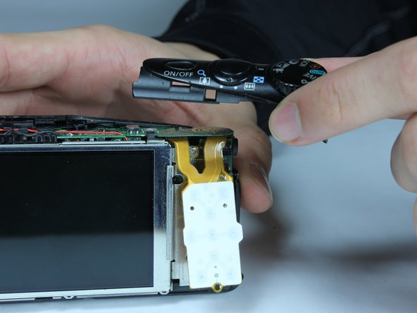Image 1/1: If the buttons do not lift off easily, you may have unscrewed the wrong screw. Revert to previous step.