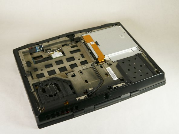 Alienware M14xR2 Optical Drive Replacement